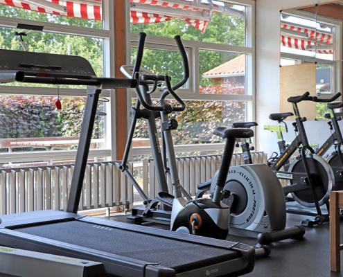 fitness center på Lindevang